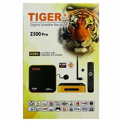 TIGER Z400 Pro with free ITV for ever / AND 1 Year RED ITV - all Arabic channels