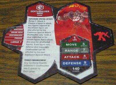 Heroscape Army Card - Deathwalker 9000 - Rise of the Valkyrie - 03 of 16