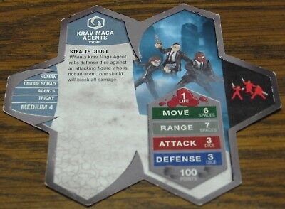 Heroscape Army Card - Krav Maga Agents - Rise of the Valkyrie - 08 of 16