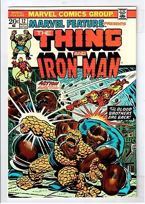 The Thing and Iron Man #12 Bronze Age Marvel Comics
