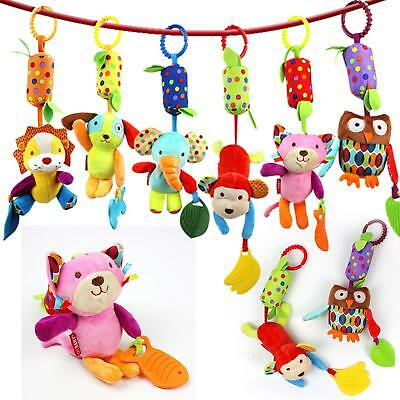 Activity Stroller Car Seat Travel Lathe Hanging Toys Baby Rattles Toy Hot LJ