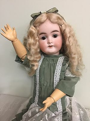 """Antique Doll Karl Hartman Bisque On A Comp Body 20"""""""