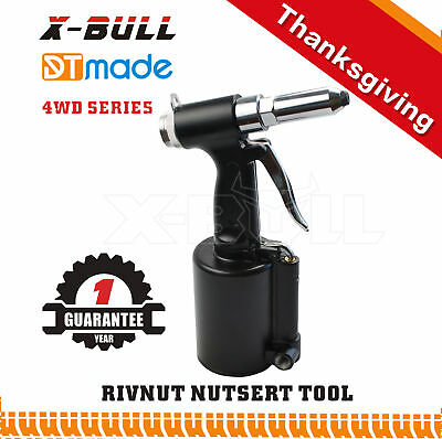X-BULL Air Pop Rivnut Hydraulic Tool Rivet Nut Riveter Gun Tools Garage Box