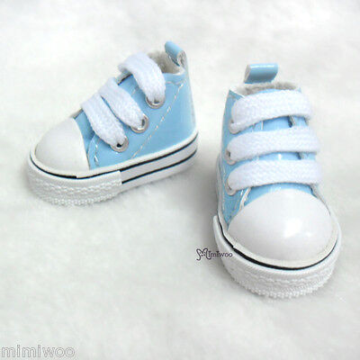 Monchhichi S MCC Pullip's Boy friend Taeyang Doll Shoes PU Leather Sneaker BLUE
