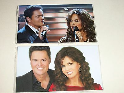 DONNY & MARIE OSMOND #1  Donny and Marie  special listing