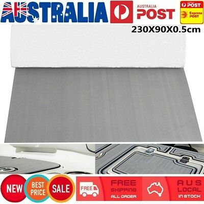 AU 2Pcs 230X90cm Marine Boat Foam Flooring Teak Decking Sheet Pad Self-Adhesive