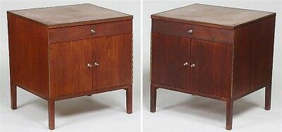 Pair of Paul McCobb/Calvin nightstands Lot 223