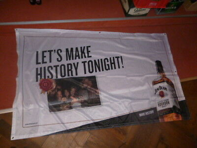 Jim Beam XXL Fahne Banner Flagge Party 200 x 120 m NEU&OVP selten