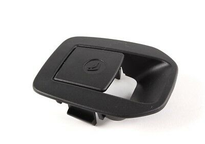 New Genuine OEM BMW 3 Series E92 Rear Seat BLACK ISOFIX MOUNT COVER 5220 6970744