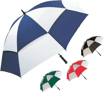 Stormshield Water Proof Golf & Outdoor Sun Protection Two Tone Umbrella Assorted