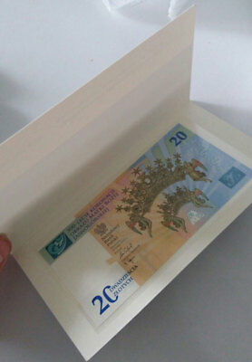 Poland 20 Zlotych 2017 Comm. P New Unc With Folder Nr