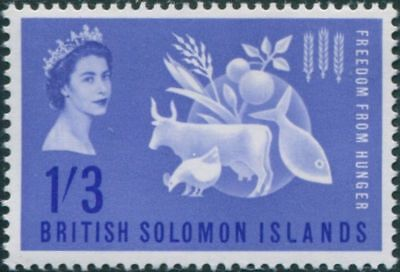 Solomon Islands 1963 Freedom from Hunger MH