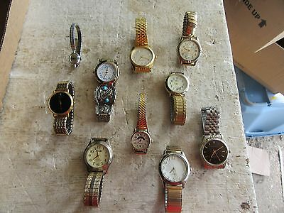 Vintage Lot of 10 Assorted Watches   Lot 17-51-8