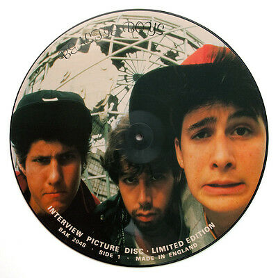 Beastie Boys – Limited Edition Interview Picture Disc