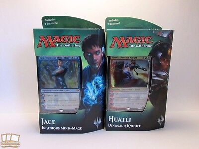 Magic The Gathering - Ixalan Planeswalker - Jace & Huatli Decks