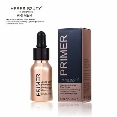 HERES B2UTY Blurring illuminating Fluid Gel Primer even skintone blurs pores fin