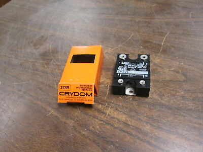 Crydom Solid State Relay D4825 Input:3-32VDC Output:480VAC 25A New Surplus