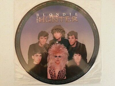"""Blondie         """"the  Hunter""""     Picture  Disc"""