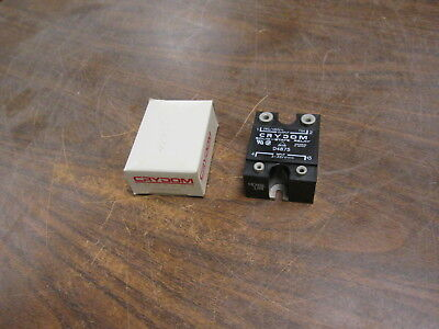 Crydom Solid State Relay D4875 Input:3-32VDC Output:280/480VAC 75A Used