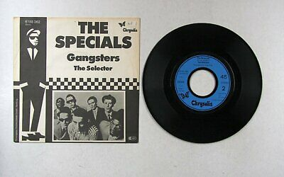 The Specials Gangsters / The Selecter Ger 7in 1979 Rare Mispress Ska Two Tone