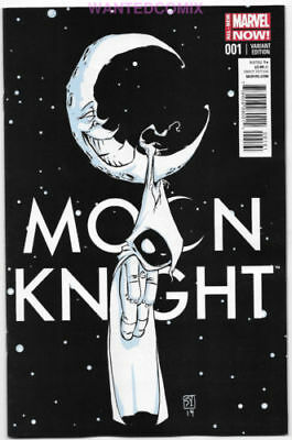 Moon Knight #1 Skottie Young Variant Cover Baby Marvel Comic Book Marc Spector