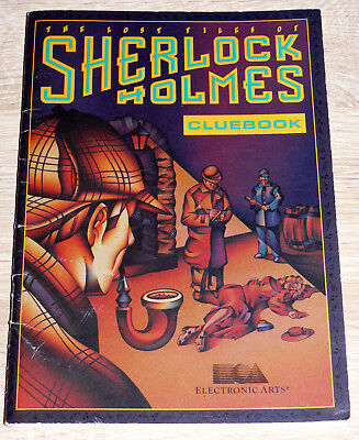 Clue Book, Hint Book - The Lost Files Of Sherlock Holmes (1992) gebraucht