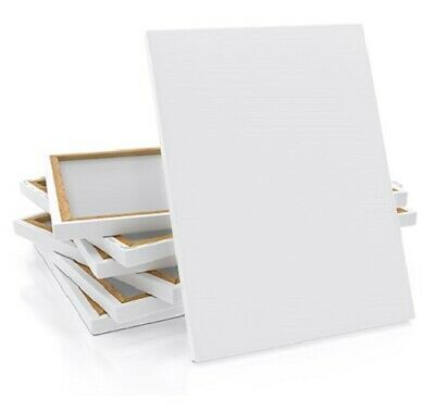 """Blank Ascot Stretched Canvas 100x100cm(40x40"""") Deep Edge, Triple Gesso Primed"""