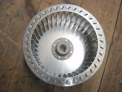 Centrifugal Impeller Galvanised Steel 19mm shaft (1.1KW) 200mm dia 96mm deep