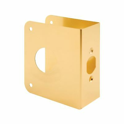 Prime-Line Products U 9565 Non-Recessed Door Reinforcer 1-3/4-Inch Thick by 2...
