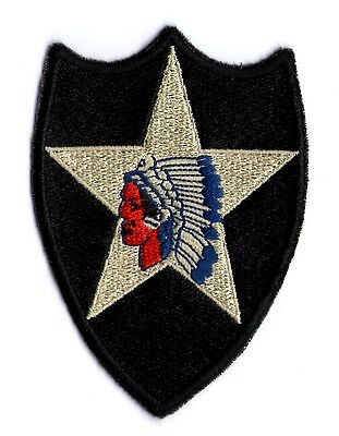 WW2 CUT-EDGE 2nd INFANTRY DIVISION PATCH