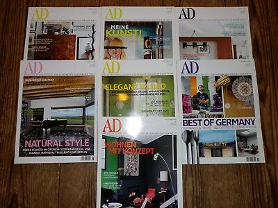 AD Architectural Digest Jahrgang 2008 7 Magazine TOP