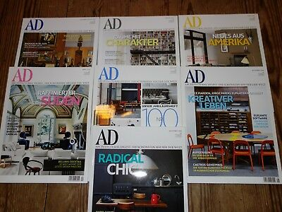 AD Architectural Digest Jahrgang 2009 7 Magazine TOP
