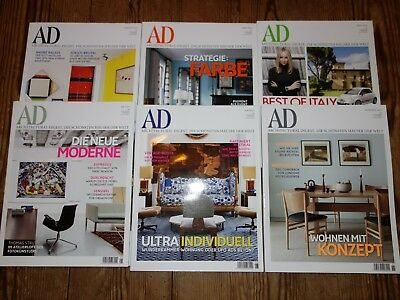 AD Architectural Digest Jahrgang 2010 6 Magazine TOP