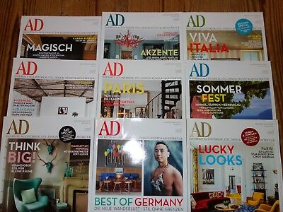 AD Architectural Digest Jahrgang 2013 9 Magazine TOP