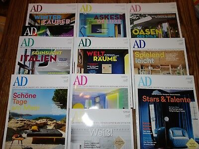 AD Architectural Digest Jahrgang 2016 10 Magazine TOP