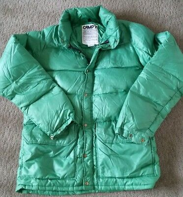 Vintage Camp 7 Boulder Colorado Mens Down Jacket Size Large