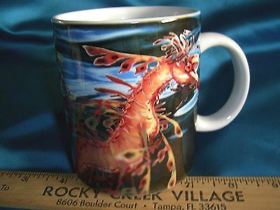 National Aquarium BALTIMORE Ceramic COFFEE Mug  LEAFY SEA DRAGON HORSE