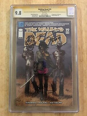 The Walking Dead #19 CGC 9.8 Signature Series!!! (Signed and Sketched 4X!!!)