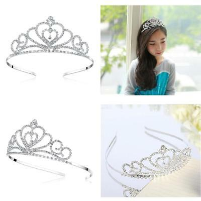 Lovelyshop Rhinestone Crystal Birthday Pegeant Crown Tiara-Wedding Bridal Prom