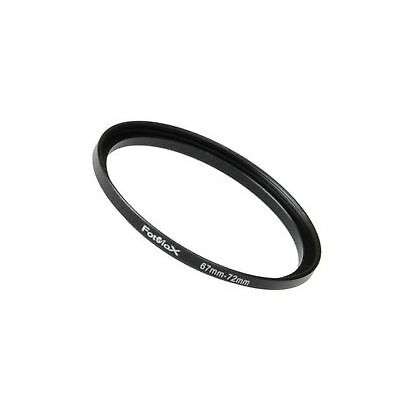 Fotodiox Metal Step Up Ring Filter Adapter Anodized Black Aluminum 67mm-72mm ...