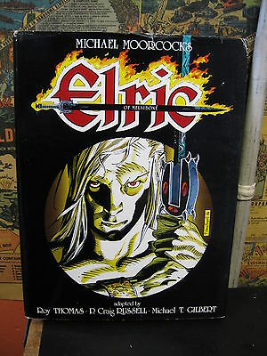Elric of Melnibone Signed Limited Edition Hardcover Graphitti Designs 1986