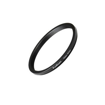 Fotodiox Metal Step Down Ring Filter Adapter Anodized Black Aluminum 72mm-67m...