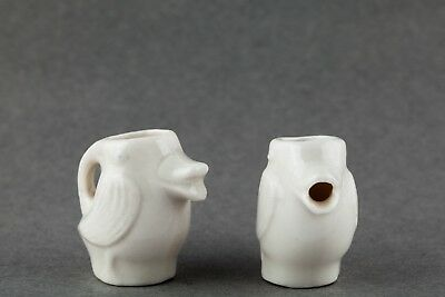 Vintage Set of Mini Duck Sugar and Creamer