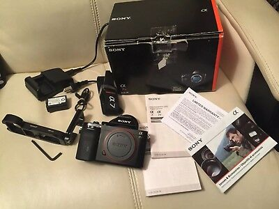Sony Alpha a7R 36.4MP Mirrorless Camera - Body Only - Plus Extras - NEAR MINT