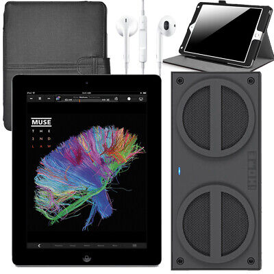 "Apple iPad 4 with Retina Display - 16GB,Wi-Fi, 9.7"" - MD510LL/A (iBN24 Bundle)"