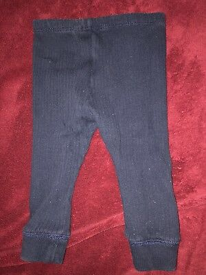 Ralph Lauren Baby Polo Ribbed Pants Navy blue 9m