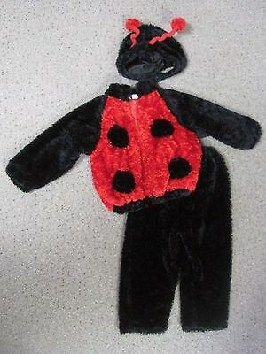 Chrisha Playful Plush Ladybug 3pc Plush Halloween Costume, Size(Age) 4 to 6