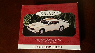 1997 Hallmark Keepsake Ornament, 1969 Hurst Oldsmobile 442  Die Cast Car