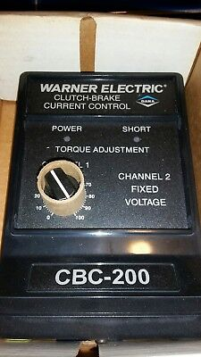 WARNER ELECTRIC CBC-200 Clutch Brake Control (New/Old Stock)