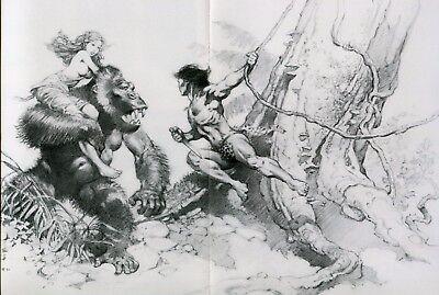 Sotheby's Comic Book & Comic Art Ctlg: Frank Frazetta Pull Out, Alex Ross Art